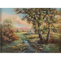Lee K. Parkinson, oil on canvas