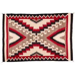 "Navajo Weaving, 5'8"" x 4'"