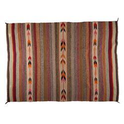 "Navajo Weaving, 6'5"" x 4'3"""