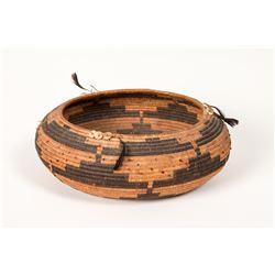 "Pomo Coiled Gift Basket, 3"" x 7 ¾"""