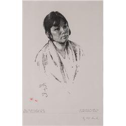 Herbert Dunton, lithograph