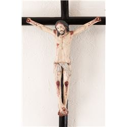 New Mexican Crucifix with Corpus of the Crucified Christ