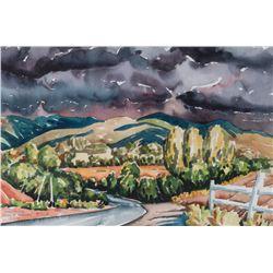 Dean Porter, watercolor