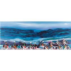 Pablo Antonio Milan, oil on canvas