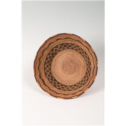 "Yokuts Coiled Bowl, 4 ¼"" x 9 ½"""