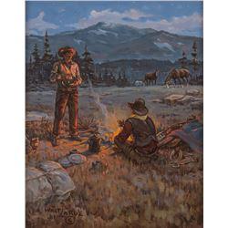 Walt LaRue, oil on canvas