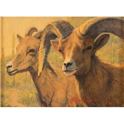 Richard Iams, oil on canvas