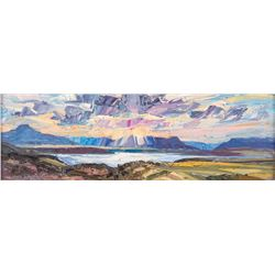 Louisa McElwain, oil on canvas