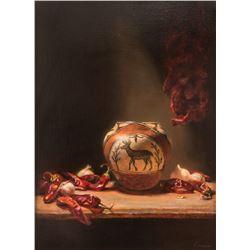 Cary Ennis, oil on canvas