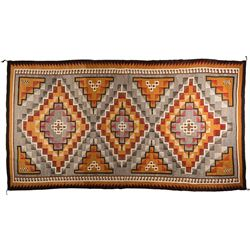 "Navajo Weaving, 12'6"" x 7'"