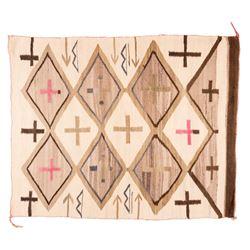 "Navajo Weaving, 3'11"" x 3'2"""