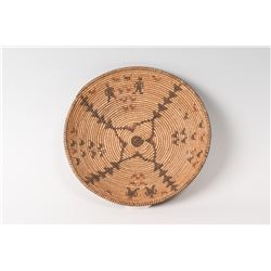 """Apache Basketry Tray, 12"""" in diameter"""