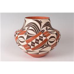 """Acoma Pueblo Pot by Barbara and Joseph Cerno, 10"""" x 12"""""""