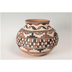 "San Ildefonso Polychrome Jar, 10"" x 10"""