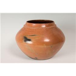 """Navajo Pueblo Pot by Samuel Manymules, 8 ¾"""" x 13 ½"""""""