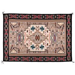 "Navajo Weaving, 6'9"" x 4'9"""