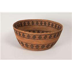 """Mono Basketry Bowl, 4 ½"""" x 10"""""""