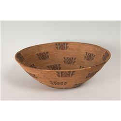"Mono North California Basketry Bowl, 5"" x 15"""