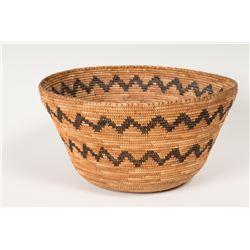 "Mono Coiled Bowl, 5 ½"" x 10 ½"""