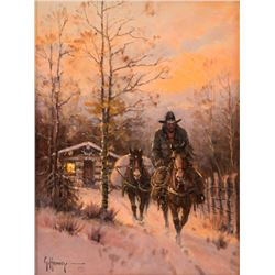 Gerald Harvey, oil on canvas