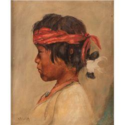 William R. Leigh, oil on canvas