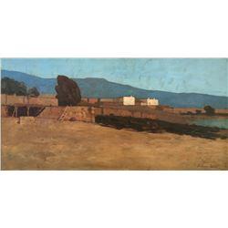 Amedee Joullin, oil on canvas