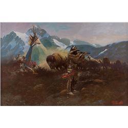 Don Prechtel, oil on canvas