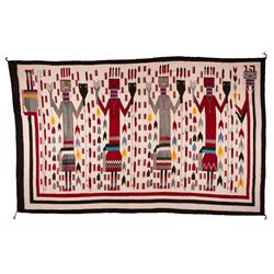 "Navajo Weaving, 12' x 7'5"""