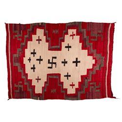 "Navajo Weaving, 4'10"" x 3'7"""