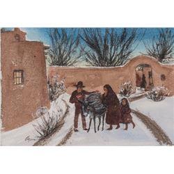 Agnes Tait , watercolor