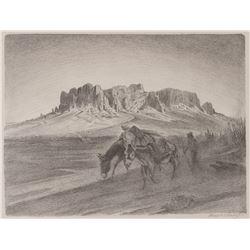 Joseph Imhof, lithograph