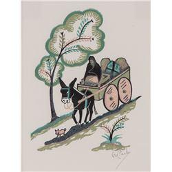 Willard Clark, woodcut