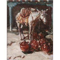 Buck McCain, oil on canvas