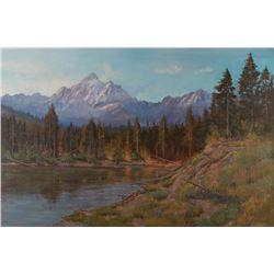 Mark Ogle, oil on canvas