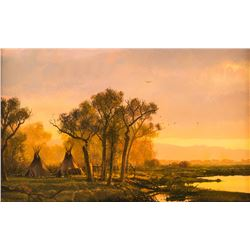 Michael Coleman, oil on canvasboard