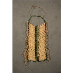 """Northern Plains Beaded Man's Hairpipe Breastplate, 26"""" long"""