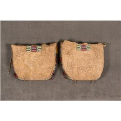"""Pair of Southern Cheyenne Storage Clothing Bags, 21"""" x 23"""" x 3 ½"""""""