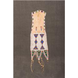 "Northern Plains Beaded Tab-Style Bag, 18 ½"" x 7"""