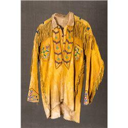 """Crow Scout Shirt, 33"""" long x 20"""""""