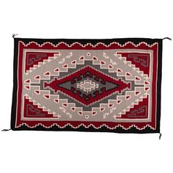 "Navajo Weaving, 6'1"" x 4'"