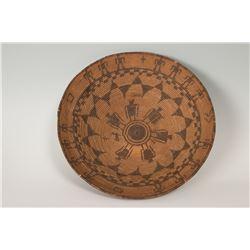 "Apache Basketry Tray, 4"" x 15 ½"""