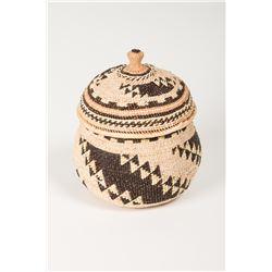 Lidded Trinket Basket by Florence Jacobs Harrie