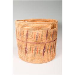 """Jicarilla Apache Basket by Melani Pesata, 14 ½"""" x 16"""""""