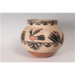 """Santo Domingo Pueblo Olla Pot, 10 ½"""" x 12 ½"""""""