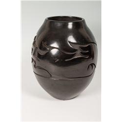Santa Clara Pueblo Jar by Mida Tafoya