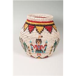 "Olla Basket by Sally Black (Navajo), 11"" x 12"""