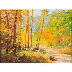 Ray Vinella, oil on canvas