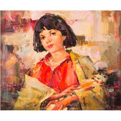 Chuck Mardosz, oil on canvas