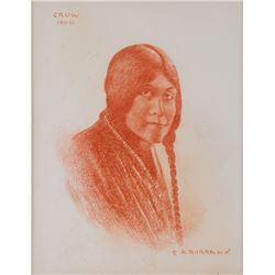 E.A. Burbank, conte crayon
