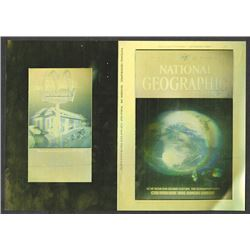 National Geographic Hologram Cover. December 1988.
